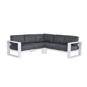 Cube loungeset wit