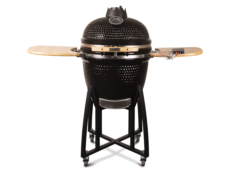 Patton Kamado Grill Deluxe Large 21 inch (mat zwart) Dé
