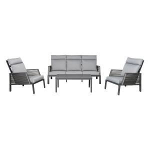 Rio aluminium loungeset